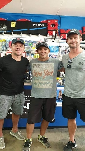 Chris Hemsworth in Carnarvon